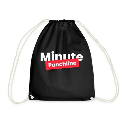 Minute Punchline - Logo Blanc - Sac de sport léger