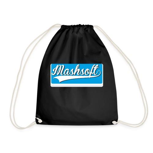Mashsoft Retro Logo - Turnbeutel