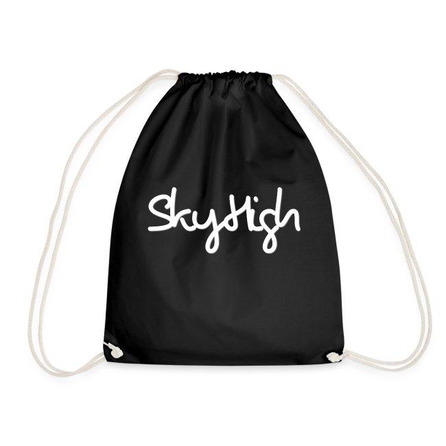 SkyHigh - Men's Premium Hoodie - White Lettering