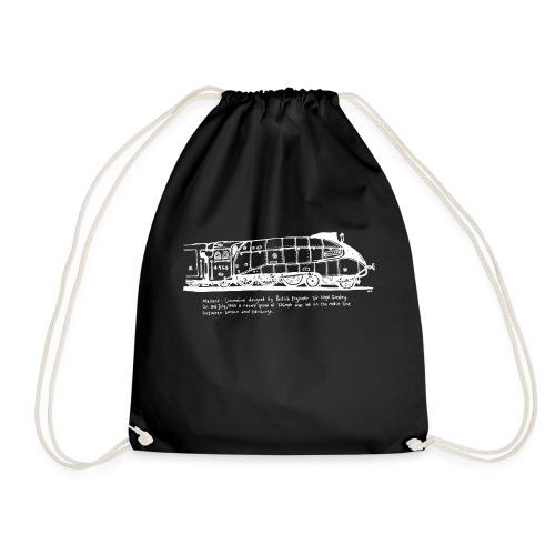 Mallard White142106 w - Drawstring Bag