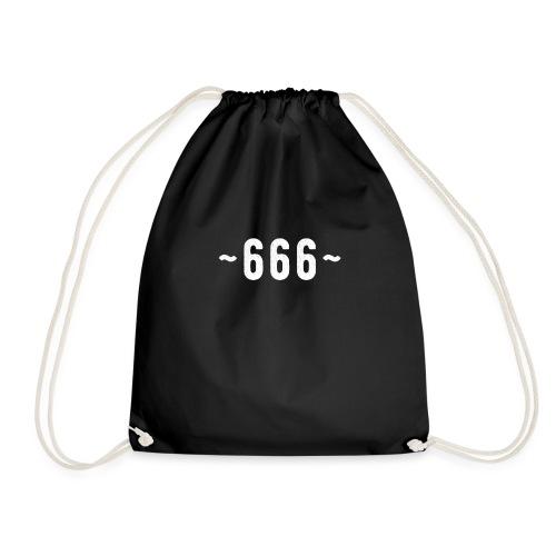 Hail Satan 666 - Turnbeutel