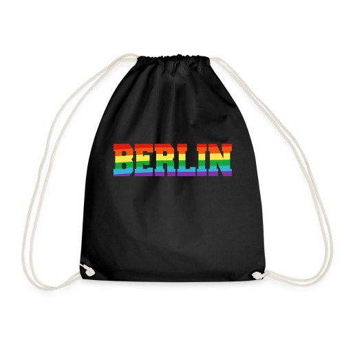 Berlin Regenbogenfahne - Turnbeutel