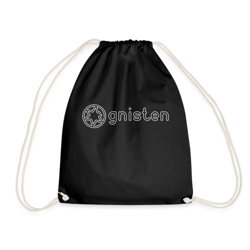 Gnisten Ry (hvidt tryk - horisontalt) - Sportstaske