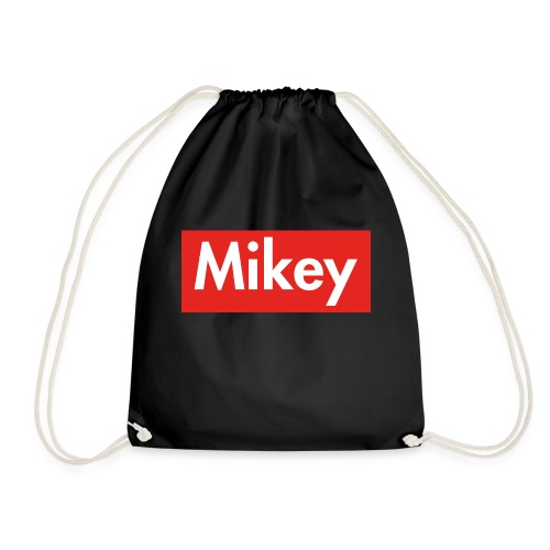 Mikey Box Logo - Drawstring Bag