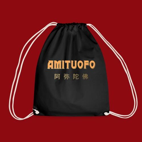Amitoufo - Buddha - Zen - Shaolin - Buddhismus - Turnbeutel