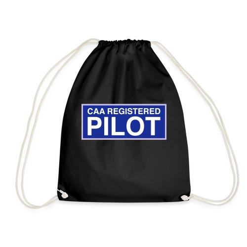 CAA Registered Pilot - Drawstring Bag