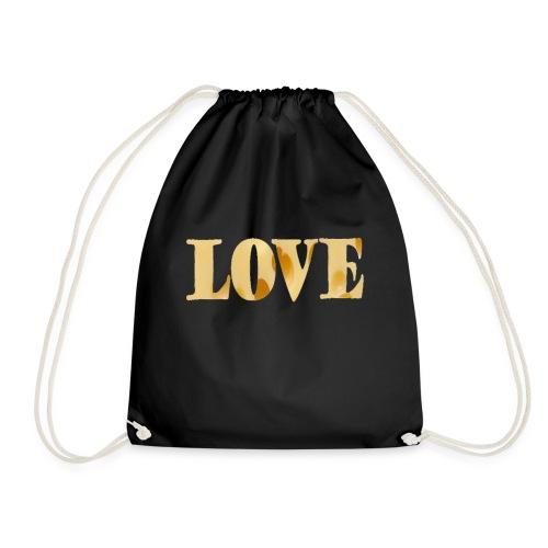 Cheesy love - Drawstring Bag