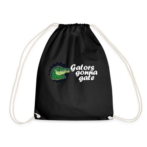 gator fw png - Drawstring Bag