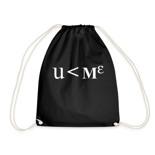 Less Than Me - Drawstring Bag
