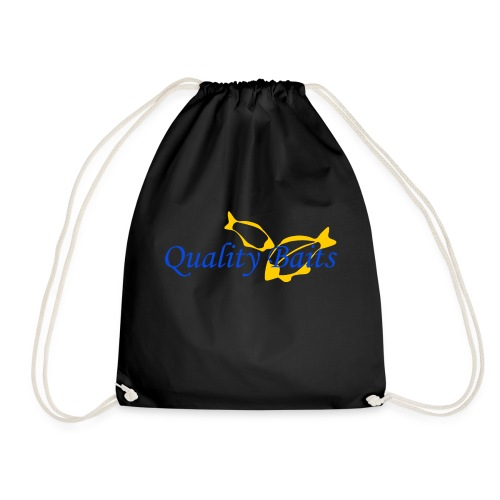 Quality Baits Logo - Drawstring Bag