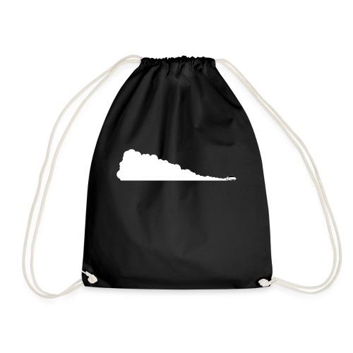 Drifting Across - Drawstring Bag