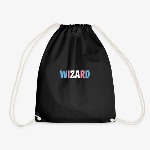 Pride (Trans) Wizard - Drawstring Bag