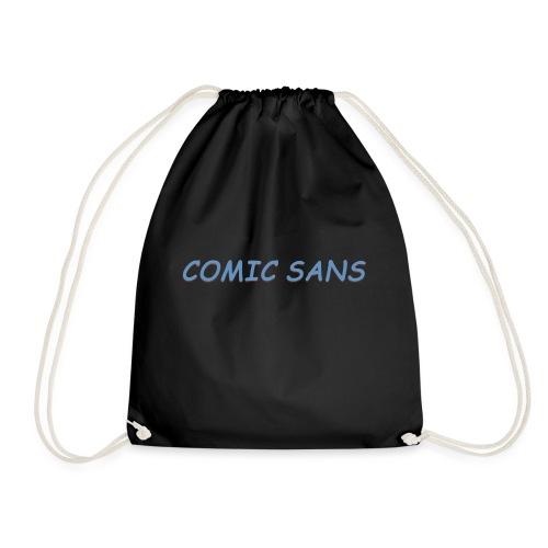 comic sans bucket hat - Drawstring Bag