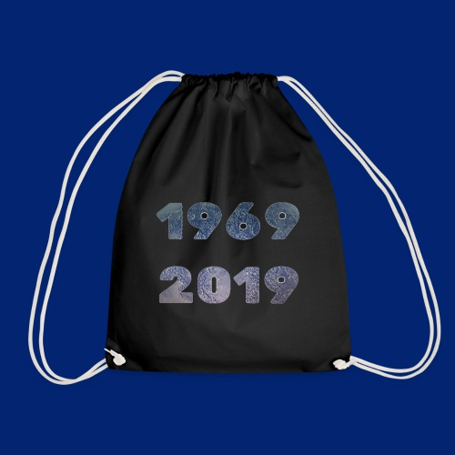 ON THE MOON 1969-2019 - Drawstring Bag