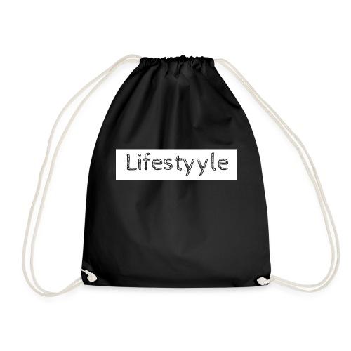 Lifestyyle weiss - Turnbeutel