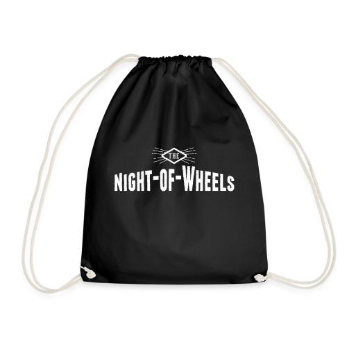 Night of Wheels white - Turnbeutel