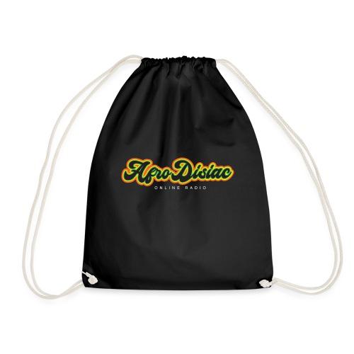 Afro Disiac Tag Logo - Drawstring Bag