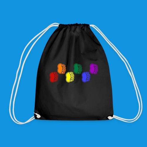 Rainbow Paws tank - Drawstring Bag