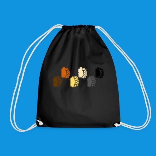 Bear Paws tank - Drawstring Bag