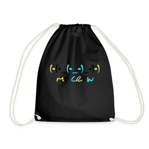 (-(-_(-_-)_-)-) - Drawstring Bag
