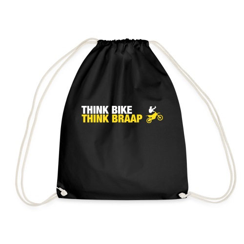 Think Braap - Drawstring Bag