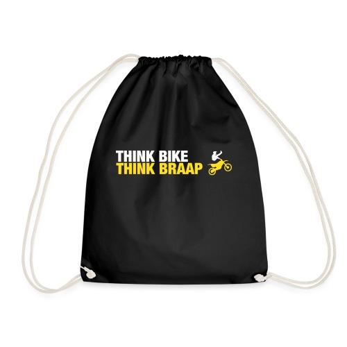 Think Braap - Drawstring Bag