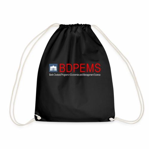 BDPEMS logo with font - Drawstring Bag