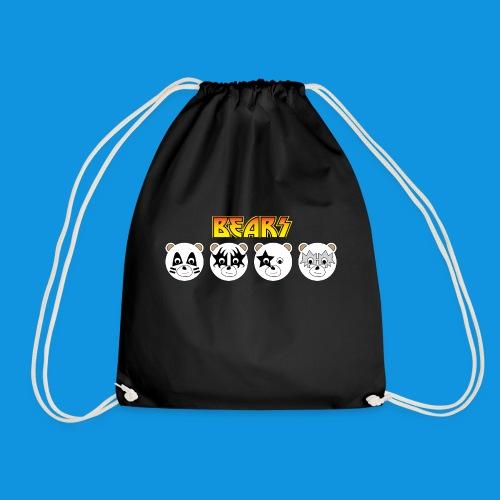 Kiss Bears.png - Drawstring Bag