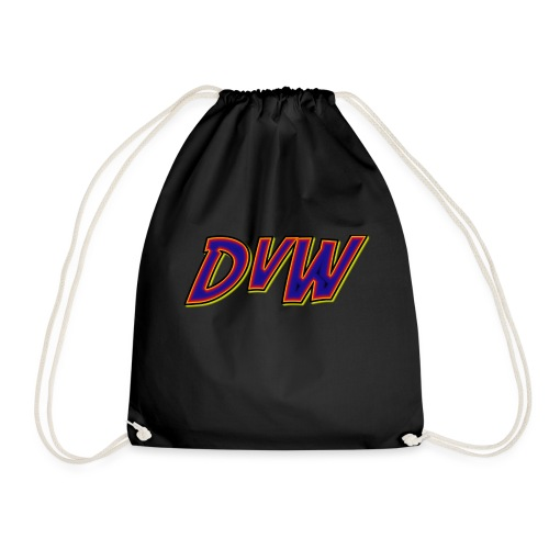 DvW logo - Drawstring Bag