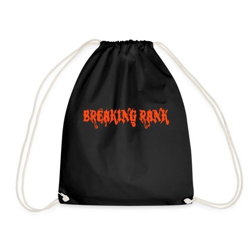 Breaking Rank Logo RAL 2005 orange - Turnbeutel