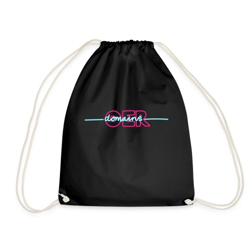 OERxDomains21 - in Neon - Drawstring Bag