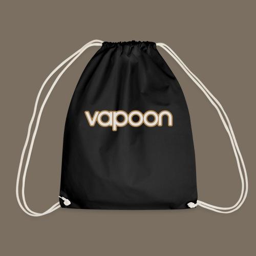 Vapoon Logo simpel 2 Farb - Turnbeutel