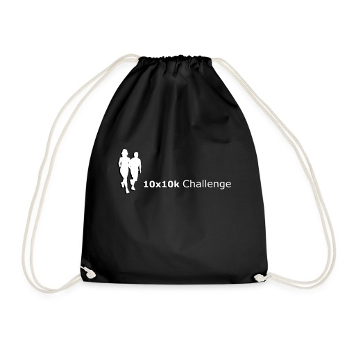 10x10k Challenge Men's - Orange - Drawstring Bag