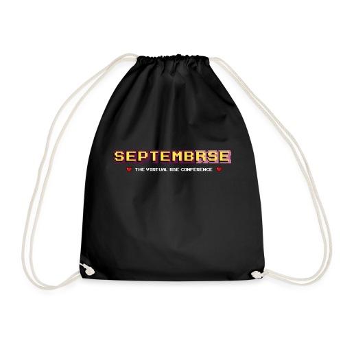 SeptembRSE - Simple Conference Logo - Drawstring Bag