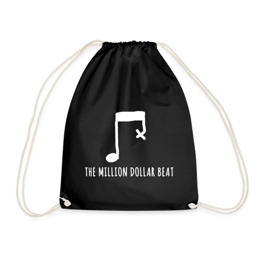 The million dollar beat - Musiker T-Shirt - Turnbeutel