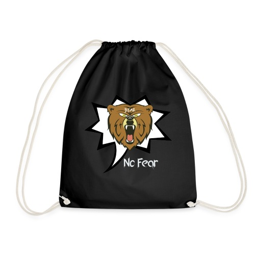 Bear Roar Logo - Drawstring Bag