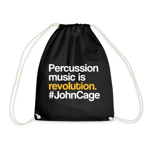 John Cage - Percussion Music (Schlagzeug Motiv) - Turnbeutel