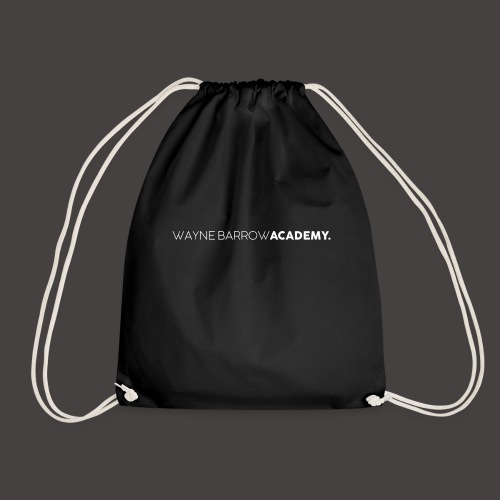 Wayne Barrow Academy Merchandise - Drawstring Bag