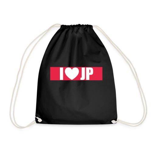 I heart JP - Turnbeutel