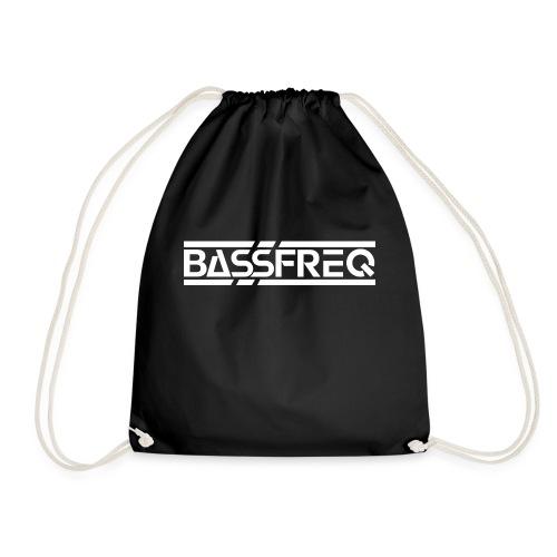 Logo Bassfreq White - Sac de sport léger