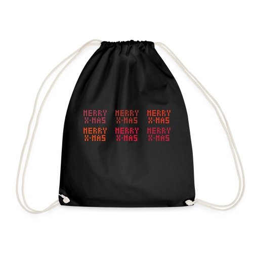 Merry X-mas - Drawstring Bag