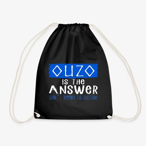 Ouzo is the answer - Turnbeutel