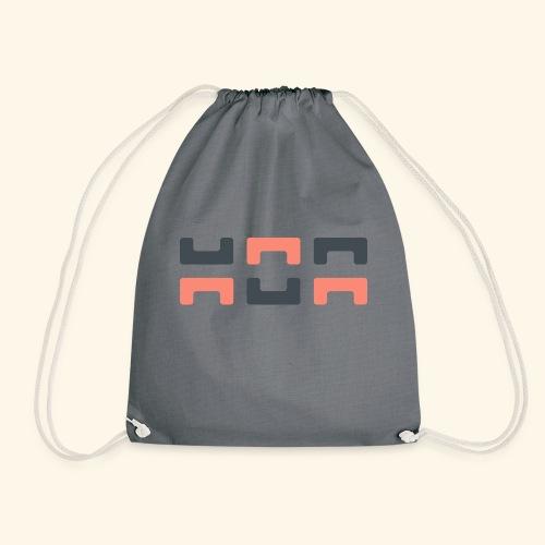 Bezier Elephant, by Hoa - Drawstring Bag