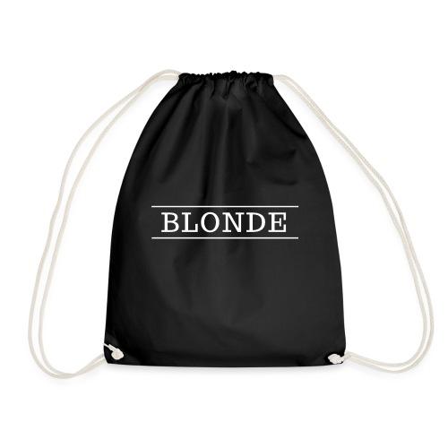 BLONDE DESIGN - Drawstring Bag