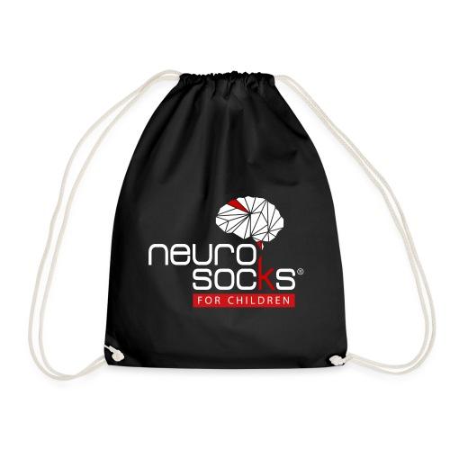 NeuroSocks for Children | Weiß-Rot - Turnbeutel