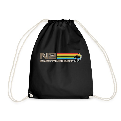 EF Spectrum 80s Software Style with 8 Bit Archer - Drawstring Bag