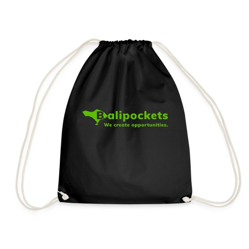Balipockets Logo - Turnbeutel