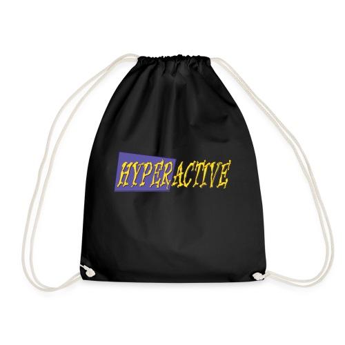 Hyperactive Graphics #1 - Drawstring Bag