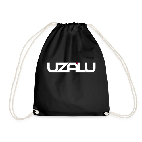 uzalu Text Logo - Drawstring Bag
