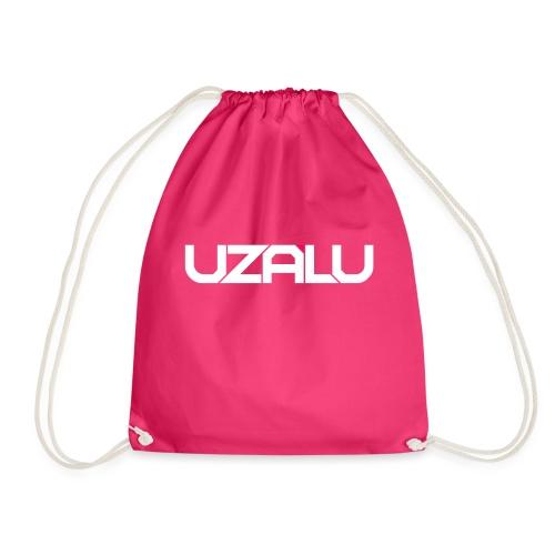 uzalu Text Logo - Drawstring Bag